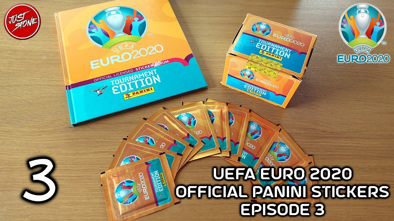 UEFA Euro 2020   Official Panini Stickers   Episode 3