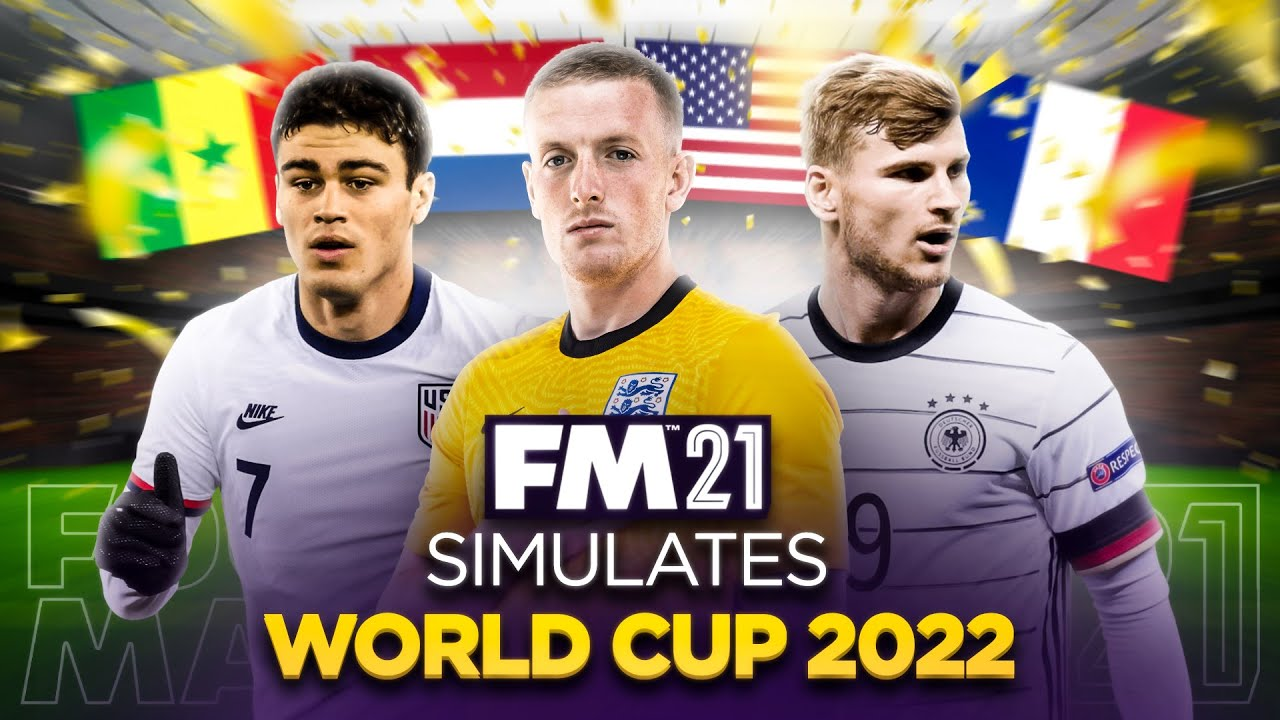 World Cup 2022 Simulated by Football Manager 2021