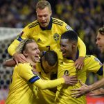 Sweden beat Greece 2-0 to move 6 points clear of them and top of Group B!  ...