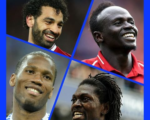 Top African scorers in the Premier League. Your favourites are ______   1& Moha...