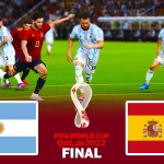 Argentina vs Spain - Final Fifa World Cup 2022 - Match eFootball PES 2021