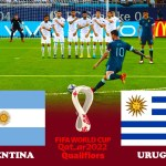 Argentina vs Uruguay | FIFA World Cup 2022 Qualifiers | Match eFootball PES 2021