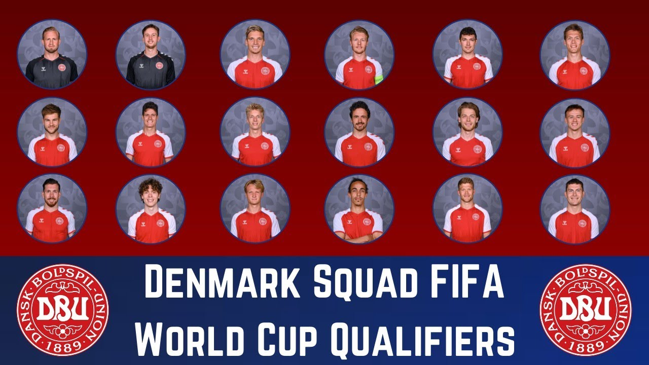 DENMARK Squad For FIFA World Cup 2022 Qualifiers - October   FootWorld
