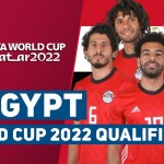 EGYPT SQUAD FIFA WORLD CUP 2022 - AFRICA QUALIFIERS