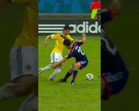 James Rodríguez Incredible  goal at the 2014 world cup