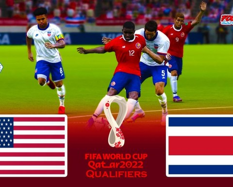 USA vs Costa Rica | FIFA World Cup 2022 Qualifiers | Match eFootball PES 2021 Gameplay
