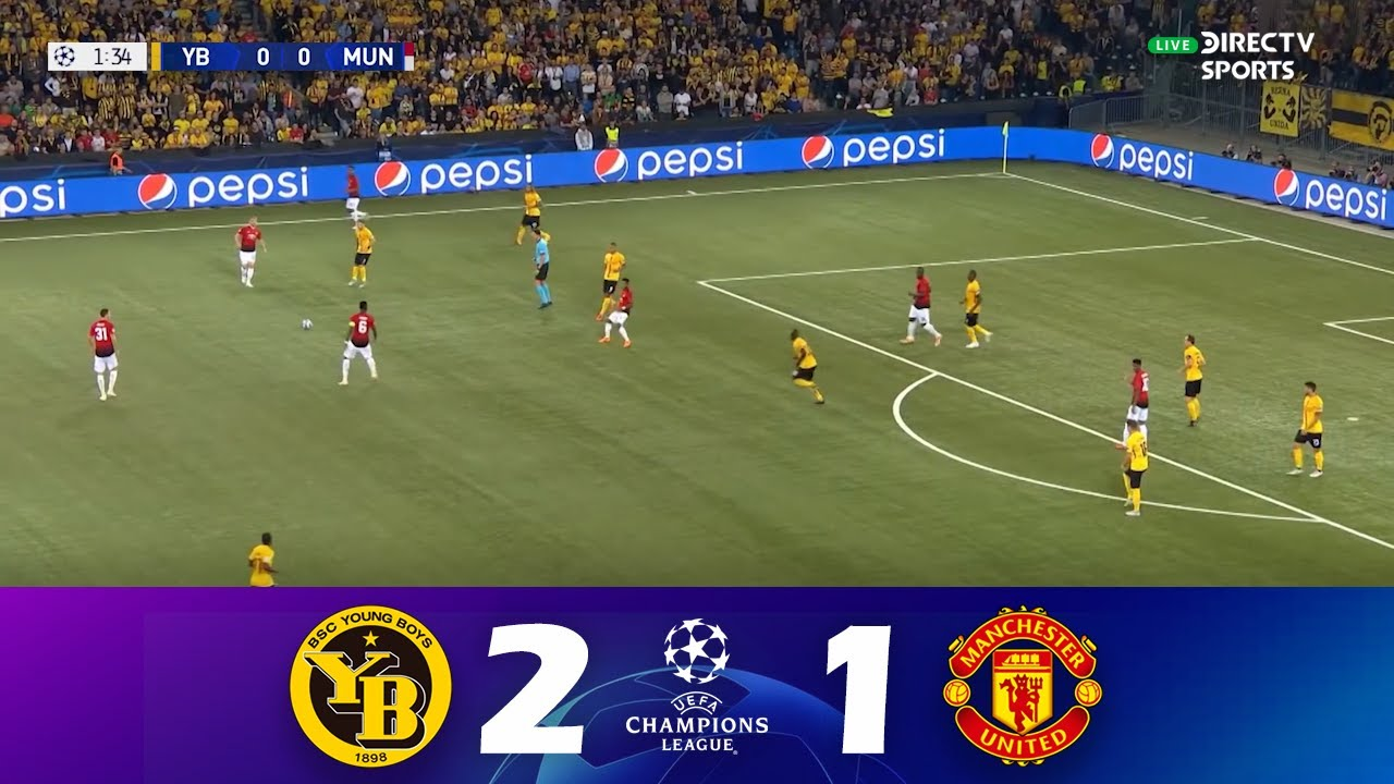 Young Boys vs. Manchester United [2-1]   UEFA Champions League 21/22   Full Match - Set. 14
