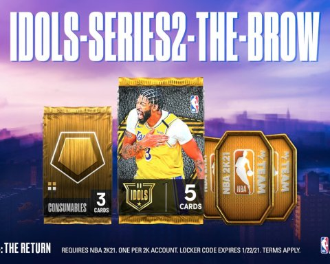 Locker Code  Use this code for an IDOLS Series II: Anthony Davis Pack, Gold Cons...