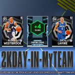 One more locker code for #2KDay Use this code for an Option Pack. Diamonds for t...