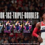 Russell Westbrook Locker Code  Celebrate the NBA's new triple-double leader and ...