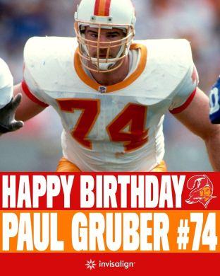 Happy birthday to a Bucs legend! ...