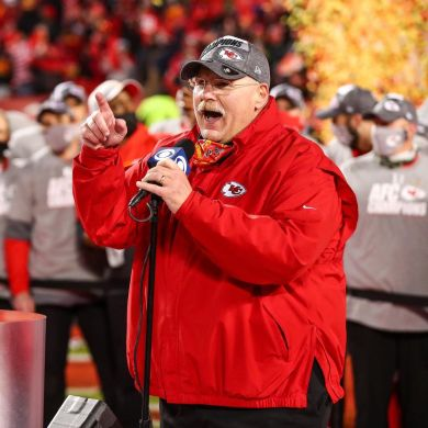 CBS Sports ranked Andy Reid as the NFL's best head coach ...