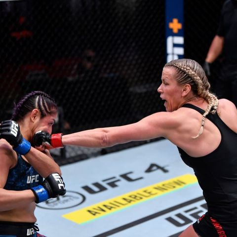 Blonde Fighter was DOMINANT!   with a big win in Vegas tonight. ...