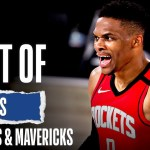 Best Of Buckets From Rockets & Mavericks High-Scoring OT Thriller!