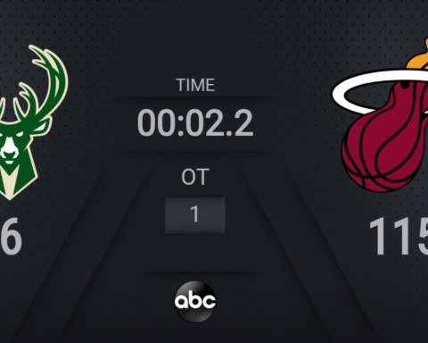 Bucks @ Heat | NBA on ABC Live Scoreboard | #WholeNewGame