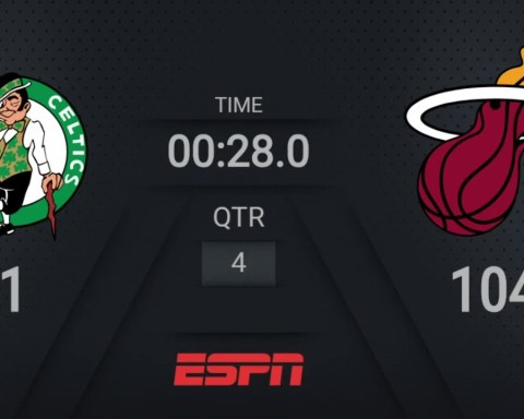 Celtics @ Heat | NBA on ESPN Live Scoreboard | #WholeNewGame