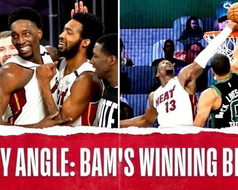 Every Angle: Bam Adebayo's GAME-WINNING BLOCK!