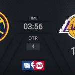 Nuggets @ Lakers | NBA on TNT Live Scoreboard | #WholeNewGame
