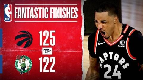 Raptors Force GAME 7 In Thrilling 2OT Duel With Celtics!