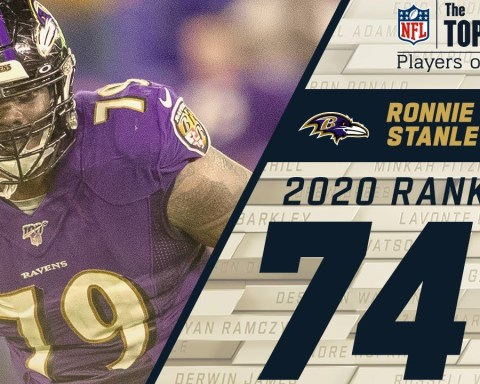 74: Ronnie Stanley (T, Ravens) | Top 100 NFL Players of 2020