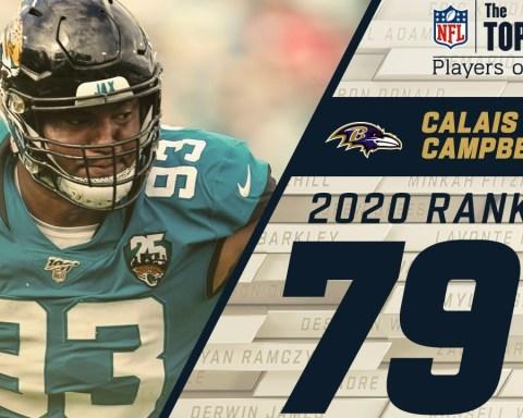#79: Calais Campbell (DE, Ravens) | Top 100 NFL Players of 2020