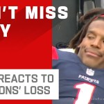 Cam Newton Reacts to Falcons Blowing Another Lead