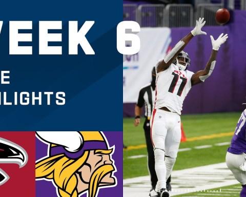 Falcons vs. Vikings Week 6 Highlights | NFL 2020