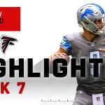 Matthew Stafford Breaks the Falcons Hearts... Again   NFL 2020 Highlights