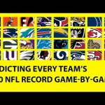 Predicting ALL 32 TEAMS 2020 NFL Record Game-by-Game