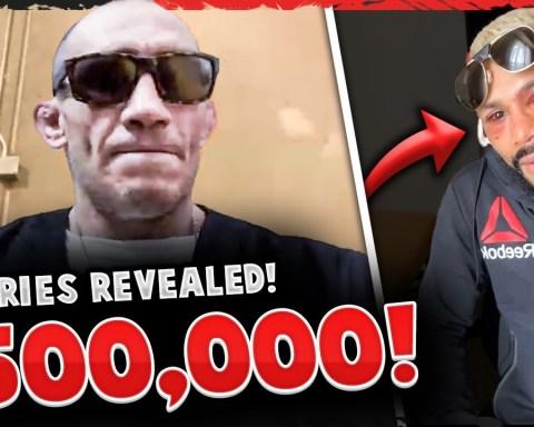 UFC 256 Fighter Salaries REVEALED, Deiveson Figueiredo post-fight DAMAGE, Tony Ferguson makes $500k