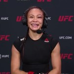 UFC Vegas 10: Michelle Waterson Interview after Main Event Win