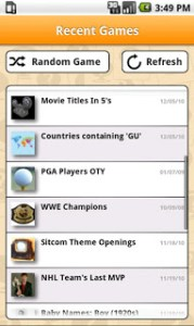 Sporcle for Android