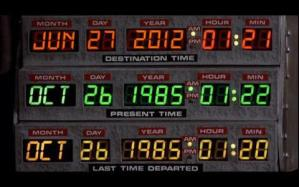 Back to the Future is (Not) Here