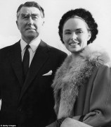 Paddy Roy Bates, the founder of Sealand, and his beauty queen wife, Joan