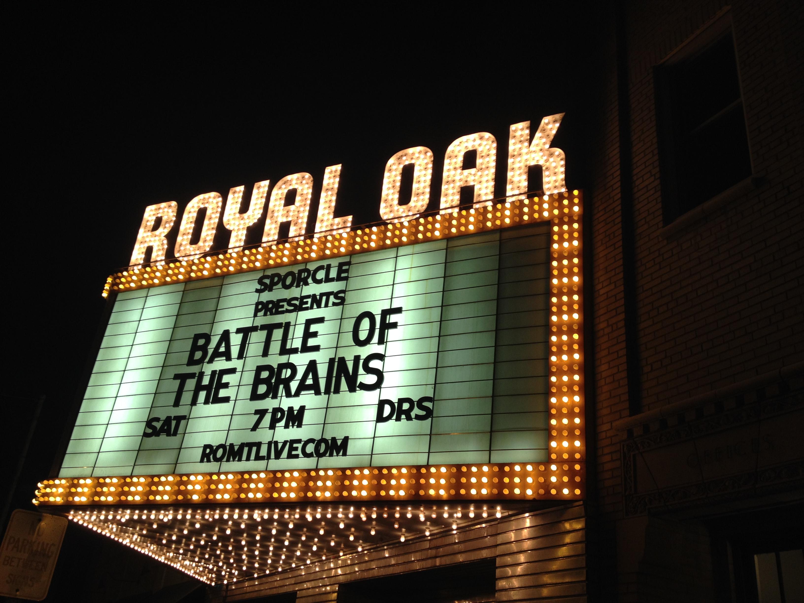 Battle of the brains 2013 recap sporcle blog for Motor city carpet royal oak