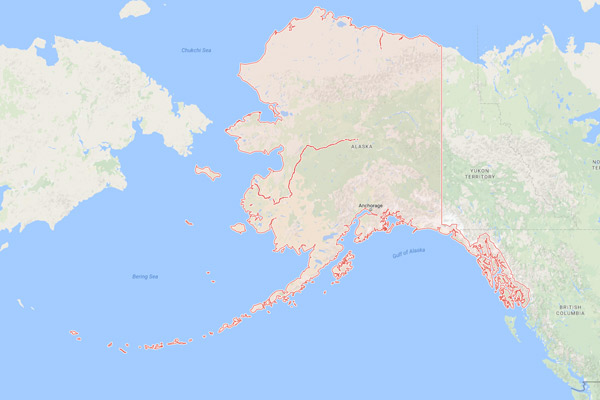 Alaska Geography Facts