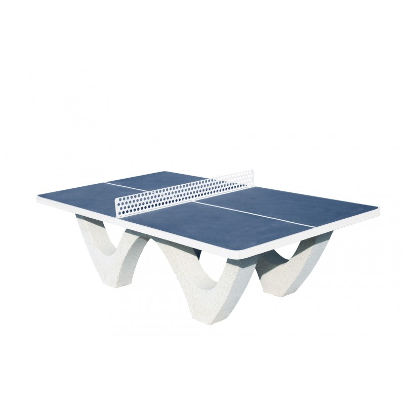 Table Ping Pong Beton Ecole Lycee College Camping