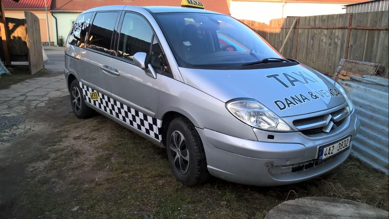 Polep citroen - Taxi Venca