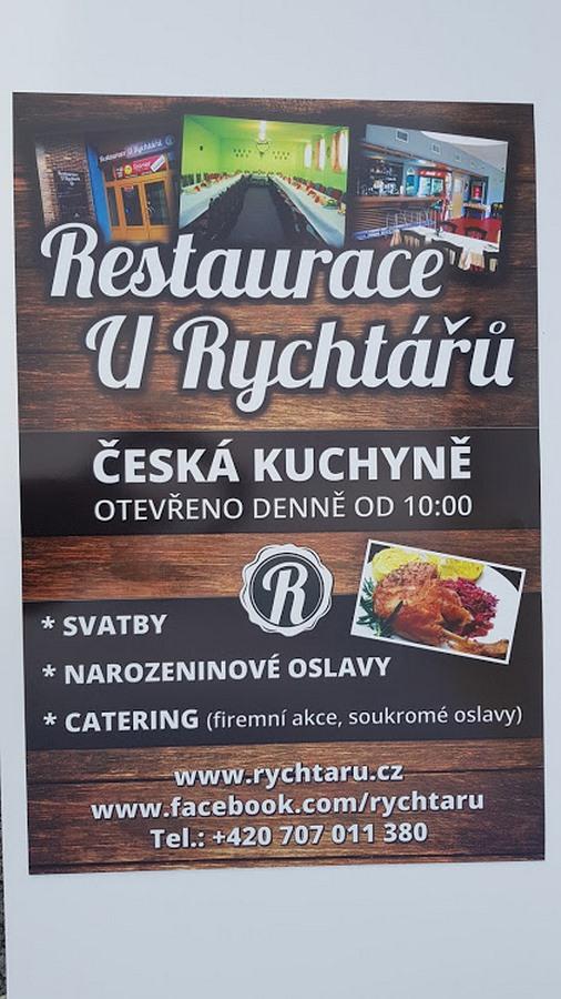 Reklamní deska - Restaurace U Rychtářů