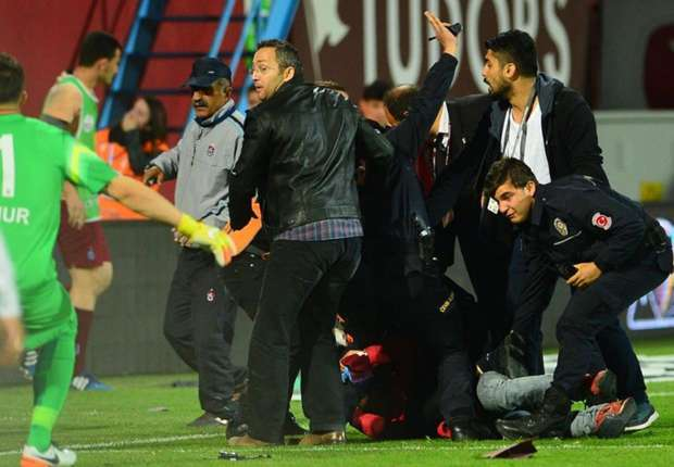 trabzonspor fenerbahçe maçı olayları