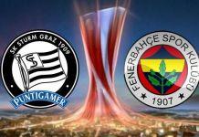 Sturm Graz - Fenerbahçe kadrolar