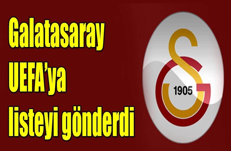 Galatasaray şampiyonlar ligi kadrosu