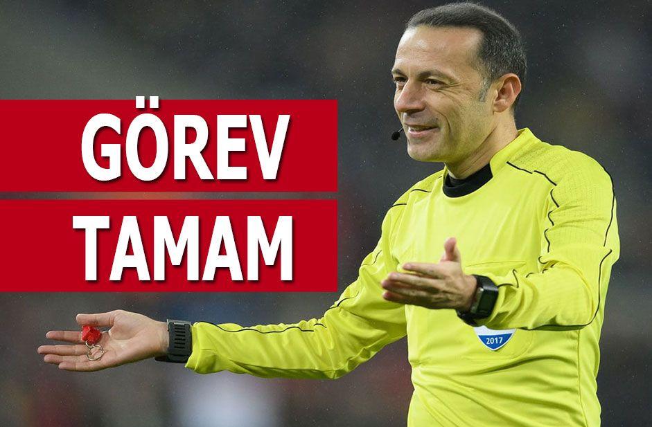 Cüneyt Çakır Beşiktaş Galatasaray derbisi