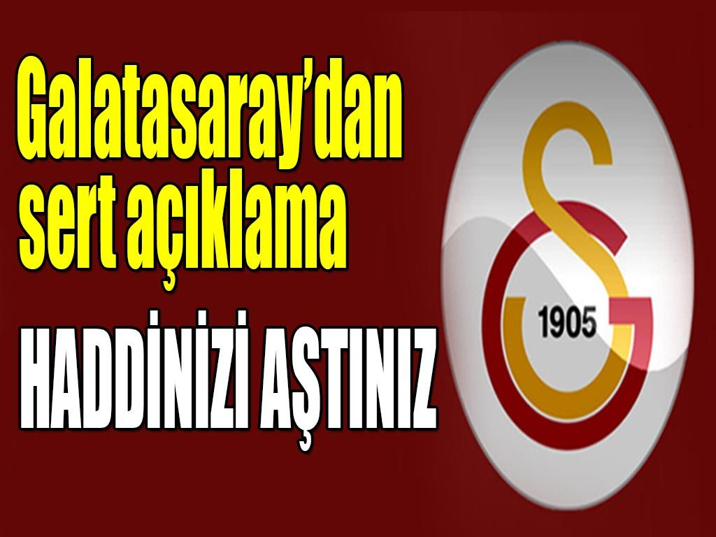 Galatasaray Kulüpler birliği açıklaması