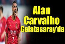 Alan Carvalho Galatasarayda