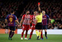 Diego Costa kırmızı kart