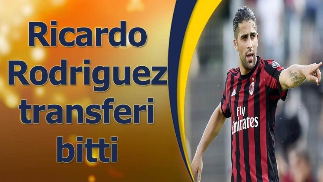 Ricardo Rodriguez Fenerbahçe