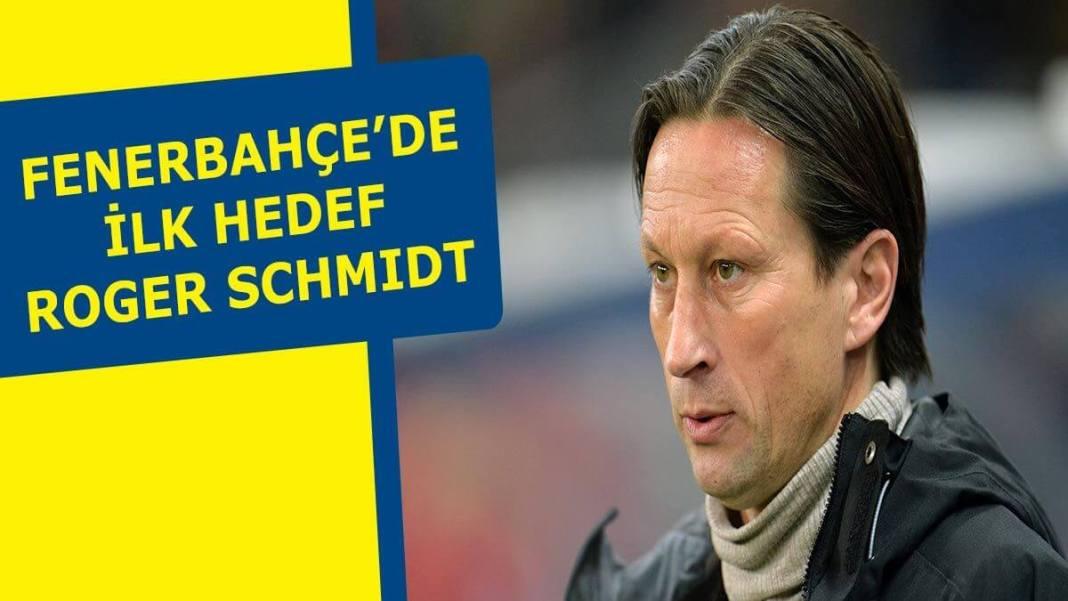 Fenerbahçe Roger Schmidt'e teklif yaptı