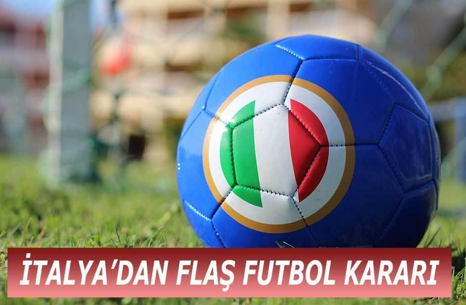 İtalya federasyonu Corona kararını verdi