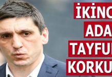 Fenerbahçe'de Tayfun Korkut iddiası